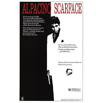 Scarface - Movie Score Poster Poster Print
