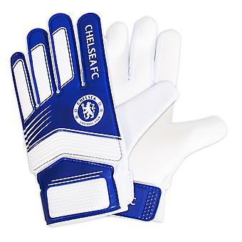 Chelsea FC Childrens/Kids Goalkeeper Gloves
