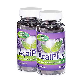 Acai Plus Extreme Acai Berry Complex - 2 maand Supply (120 Capsules) - Antioxdant - Evolution afslanken