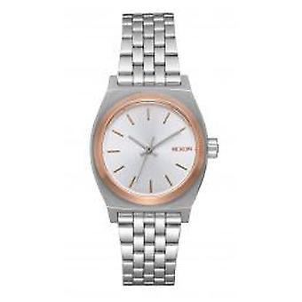 Nixon The Small Time Teller Silver / Gold / Rose Gold (A3992632)