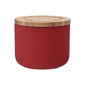Ladelle Stak Yumuşak Mat Kırmızı Kutu, 9cm