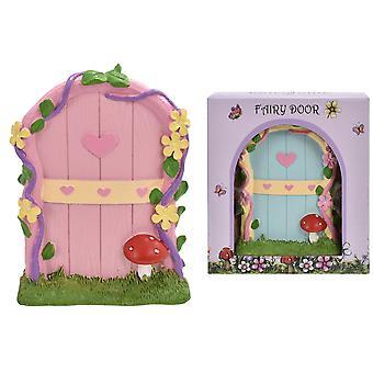 Porta fata Fairyland con funghi in miniatura porta giocattolo