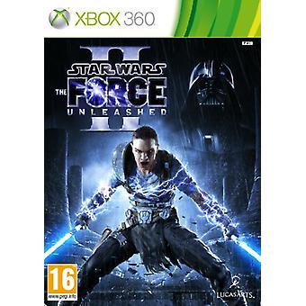 Star Wars The Force Unleashed II (Xbox 360)-fabriek verzegeld