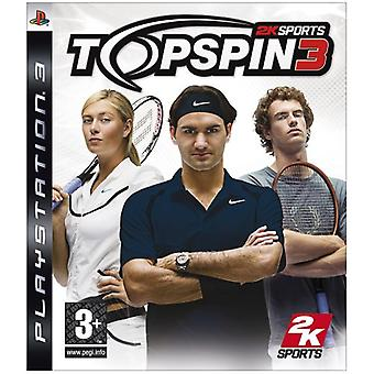 Top Spin 3 (PS3) - Neu