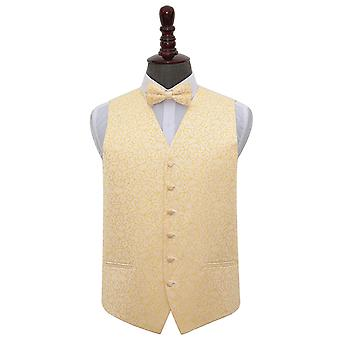 Turbinio dell'oro sposa gilet & Bow Tie Set