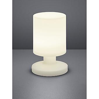 Trio Lighting Lora Modern White Plastic Table Lamp