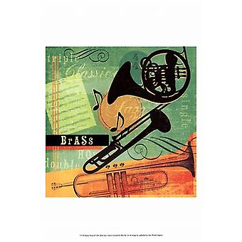 Music Notes II Poster Print by Beth Anne Creative (13 x 19)