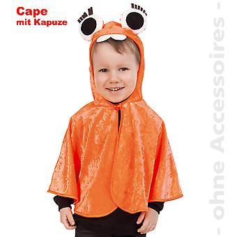 Monster Kostüm Kinder Monstercape orange Einauge Cape Kinderkostüm