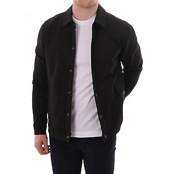 Ted Baker Mens Flapjak Ls Collared Zip Through Layer