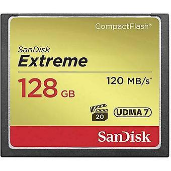 SanDisk Extreme® CompactFlash kaart 128 GB
