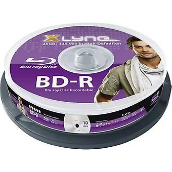 Xlyne 8010000 blank Blu-ray BD-R 25 GB 10 PC (er) spindel