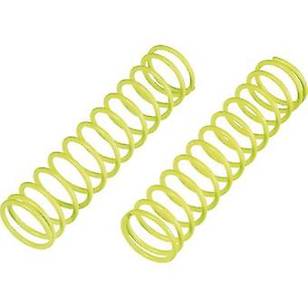 Reely 1:8 Shock absorber tuning spring Extra hard Neon yellow 85 mm 2 pc(s)