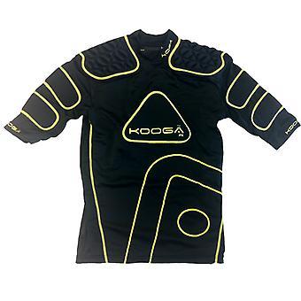 Almofadas de ombro de Rugby KOOGA IPS Junior [preto/amarelo]