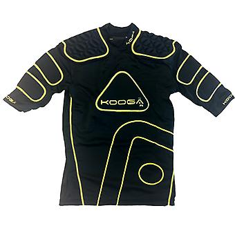 KOOGA IPS Junior Rugby axelvaddar [svart/gul]