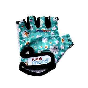 Kiddimoto Cycling Gloves Fleur
