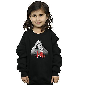 Justin Bieber Girls Red Logo Sweatshirt