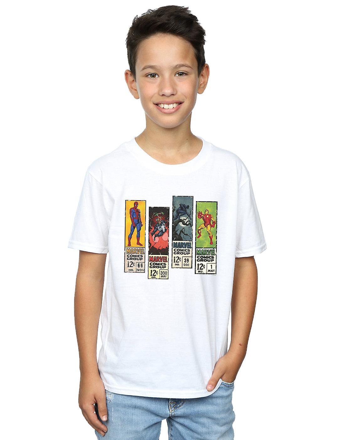 Marvel Boys Comic Strips T-Shirt