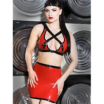 Latex Candy Apple Skirt
