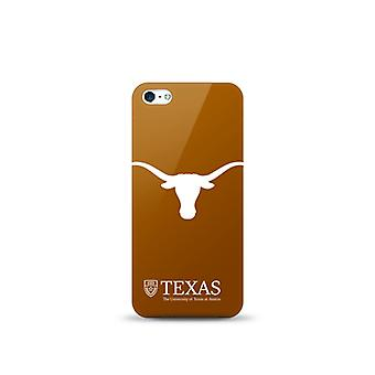 5 Pack -Mizco Sports NCAA Oversized Snapback TPU Case for Apple iPhone 5 / 5S / SE (Texas Long Horns)