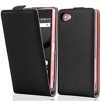 Cadorabo case for Sony Xperia Z5 case case cover - Flip phone case in smooth faux leather - Case Cover Protective case case book folding style