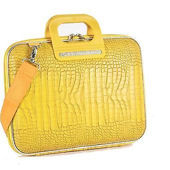 """كيس بومباتا Cocco سينا """"حقيبة الملفات"""" لكمبيوتر محمول 13 بوصة من فابيو غيدوني-أصفر"""