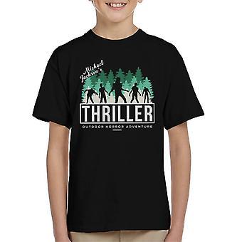 Michael Jackson Thriller Outdoor Horror Adventure Kid's T-Shirt