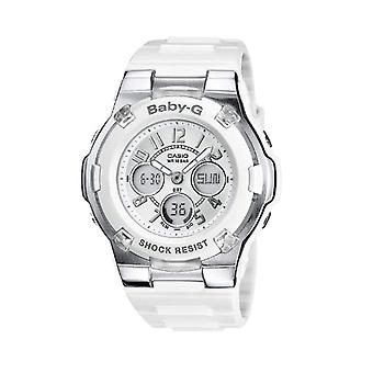 Casio analog-digital quartz women's watch with black resin strap BGA-110-7BER