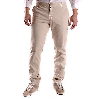 Fred Perry Ezbc094010 Men's Beige Cotton Pants