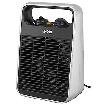 Unold 86106 Fan heater Black, Silver
