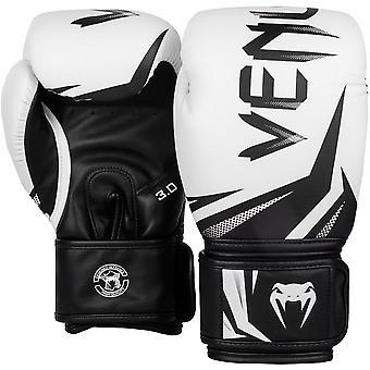 Venum Challenger 3.0 Training Boxing Gloves - White/Black