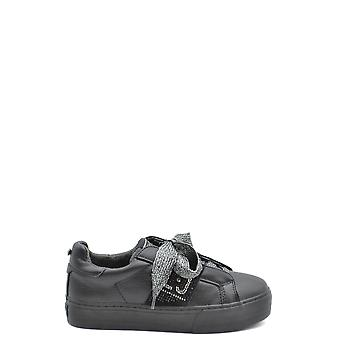 Liu Jo Ezbc086153 Dames's Black Leather Sneakers