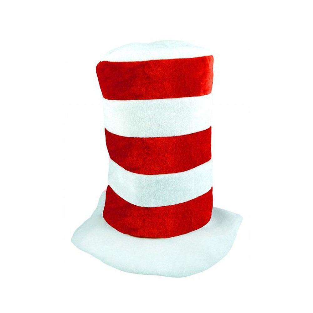 Union Jack Wear Tall Red & White Stripe Hat - England