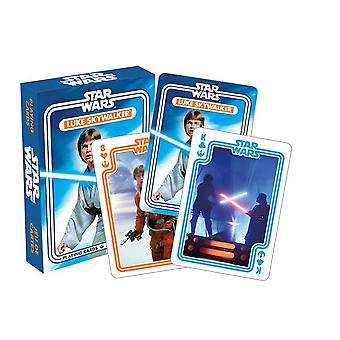 Star Wars Luke Skywalker jeu de 52 cartes (nm)