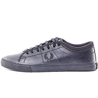 Fred Perry Kendrick Tipped Cuff Leather Men's Trainers B7460-102