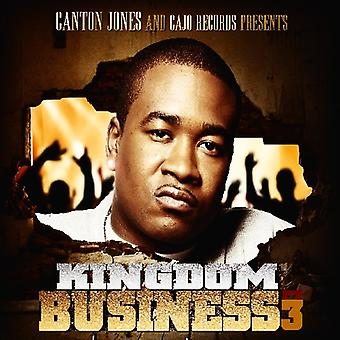 Canton Jones - Kingdom Business Pt. 3 [CD] USA import