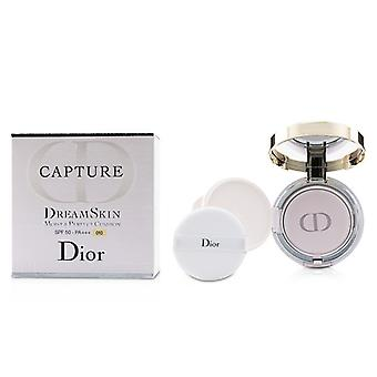 Christian Dior Capture Dreamskin Moist & Perfect Cushion Spf 50 With Extra Refill - # 010 (ivory) - 2x15g/0.5oz