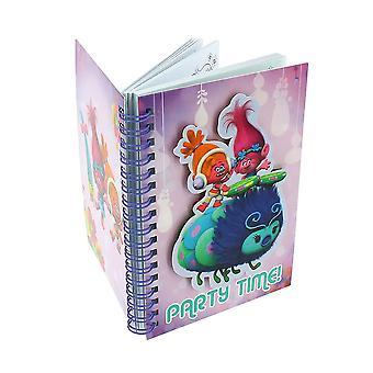 DreamWorks trollen A6 notebook