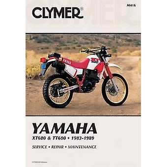 Yamaha XT/TT 600 - 1983-89 - Clymer Workshop Manual by E. Scott - Rand