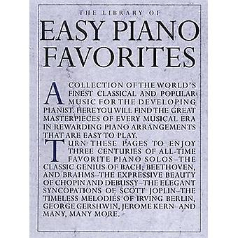 The Library Of Easy Piano Favorites by Amy Appleby - 9780825614835 Bo