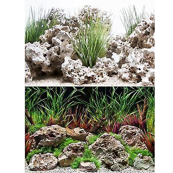 Marina Planted Hideaway / Texas Cloud Aquarium Background 24inch High