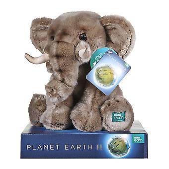 BBC Earth Plush Elephant 25cm