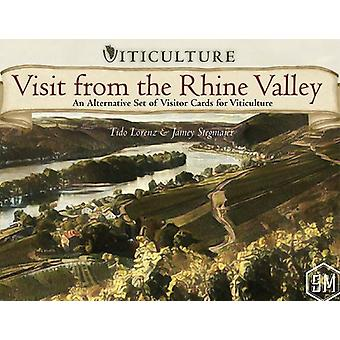 Visit from the Rhine Valley Viticulture Expansion For Board Game