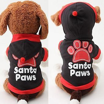 Santa Paws Dog Hoodie