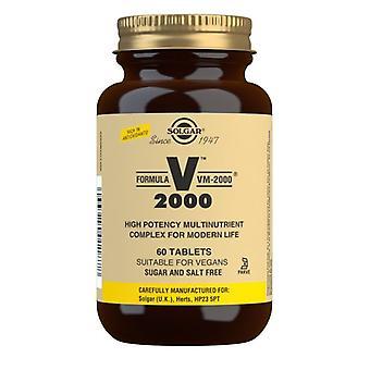 Solgar Formula VM-2000 Tablets 60 (1187)