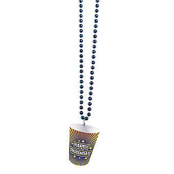 Bristol Novelty Birthday Shot Glass Bead Necklace