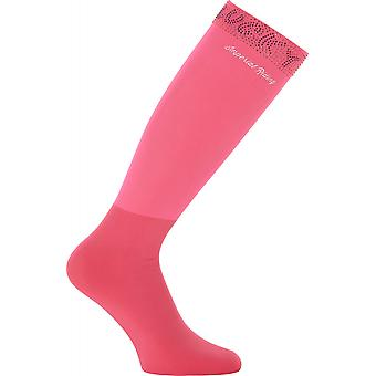 Imperial Riding Show Up Womens Boot Socks - Diva Pink