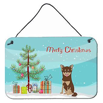 Chihuahua Christmas Tree Wall or Door Hanging Prints