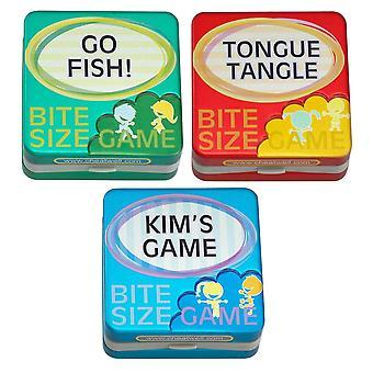 Cheatwell ゲーム子供の夕食後一口サイズ ゲーム - セット 1