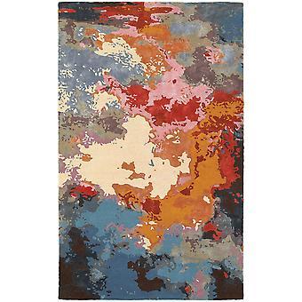 Galaxy 21908 multi/ pink indoor area rug rectangle 3'6