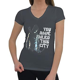 Arrow TV Series Failed City Women's V-Neck T-Shirt